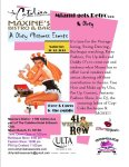 Cupcake Burlesque performing at Maxine's, Catalina Hotel South Beach