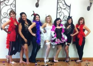 Burlesque Style Bachelorette Party!