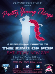 Pretty Young Things - a Michael Jackson Tribute burlesque show!