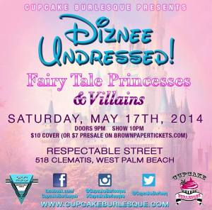 Diznee Undressed Flyer