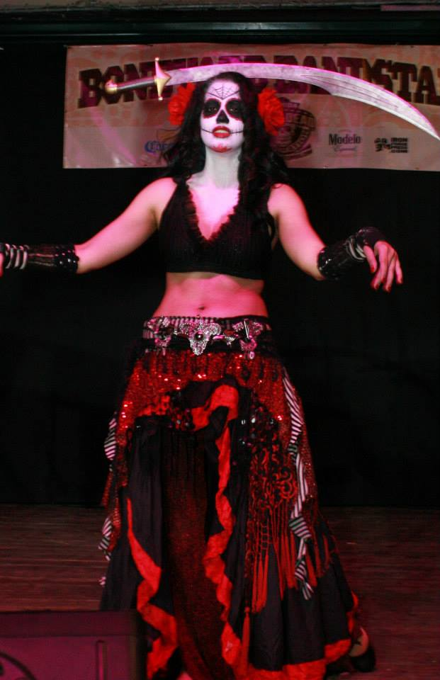 Lila Starlet day of the dead
