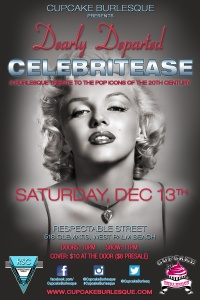 Cupcake Burlesque presents Dearly Departed Celebrities