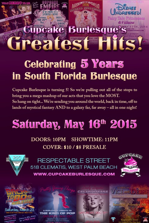 Cupcake Burlesque Greatest Hits