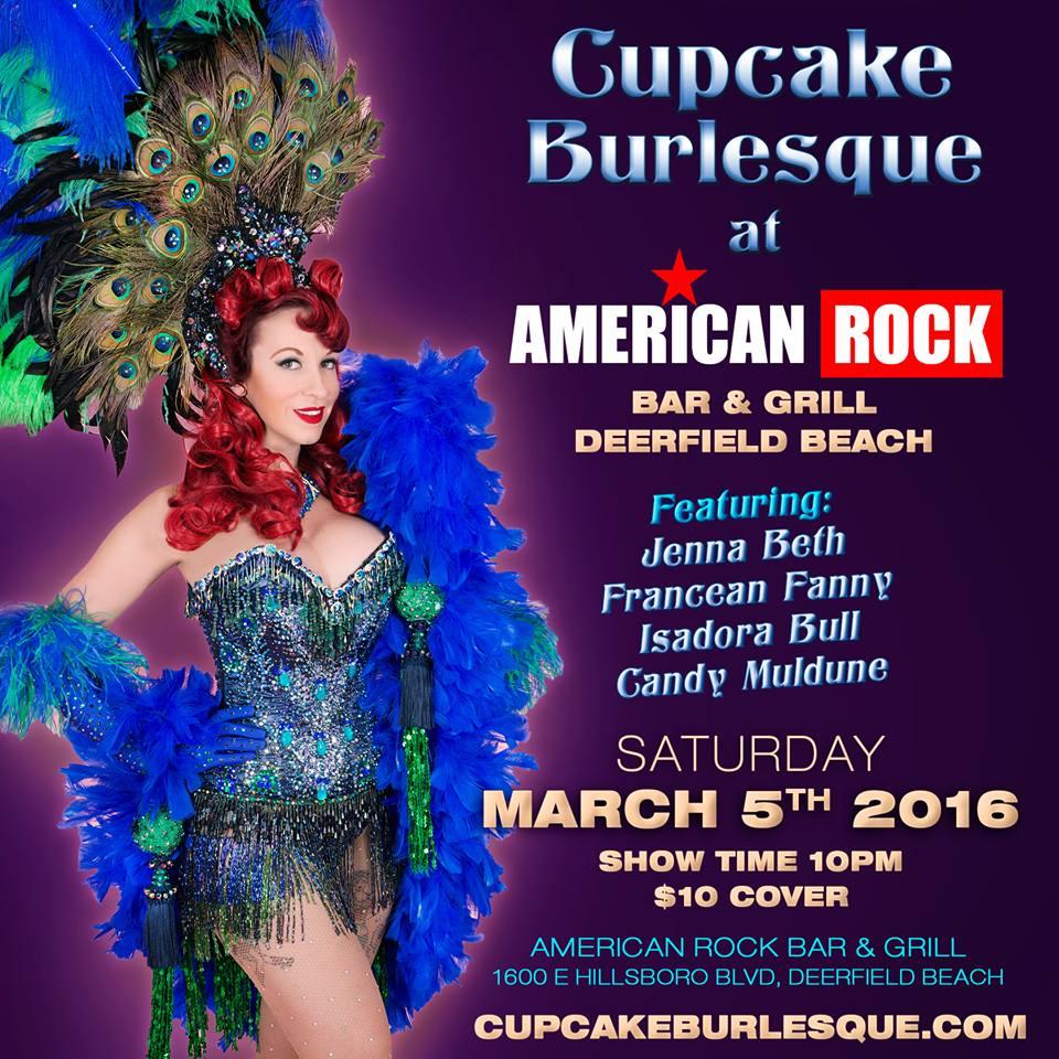 Ft lauderdale cupcake burlesque for 13 american table boca raton menu