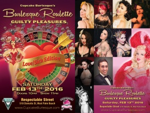 Cupcake Burlesque Roulette at Respectable Street West Palm Beach