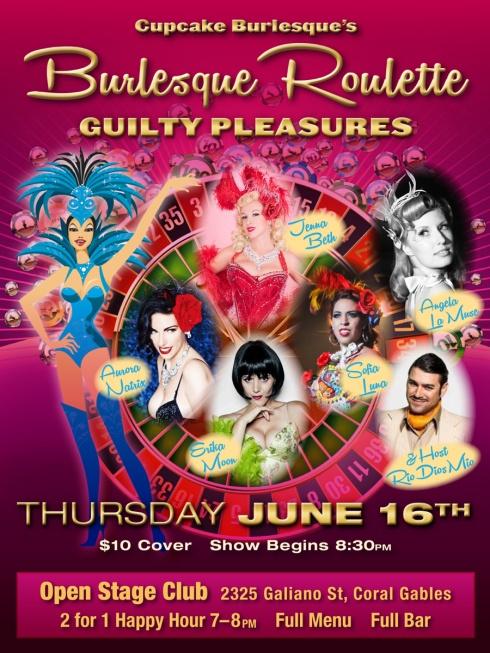 Burlesque Roulette Miami Coral Gables