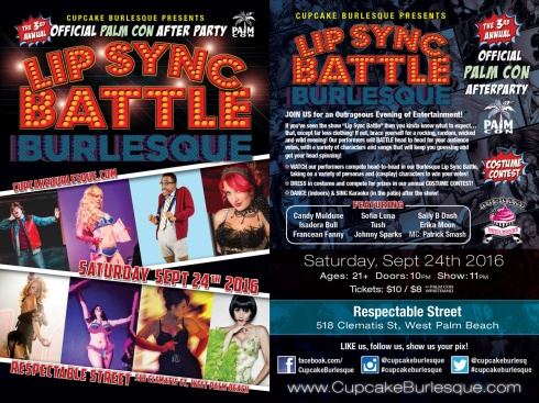 Lip Sync Battle Burlesque, Sept 24th