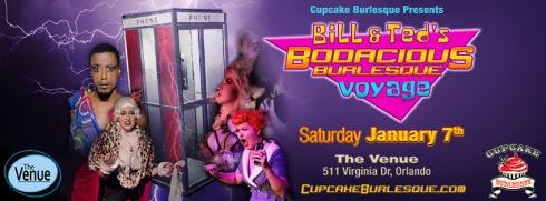 Bill & Teds Bodacious Burlesque Voyage