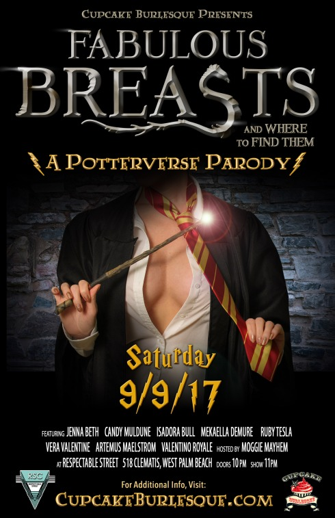 Fabulous Breasts and Where to Find Them - A Potterverse Burlesque Parody