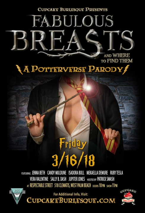 Fabulous Breasts and Where to Find Them - A Potterverse Parody