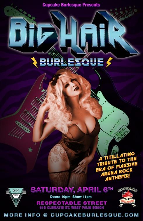 Cupcake Burlesque presents Big Hair Burlesque